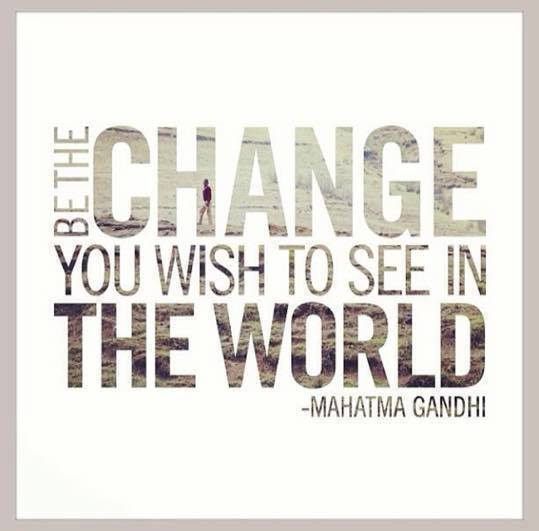 change in the world